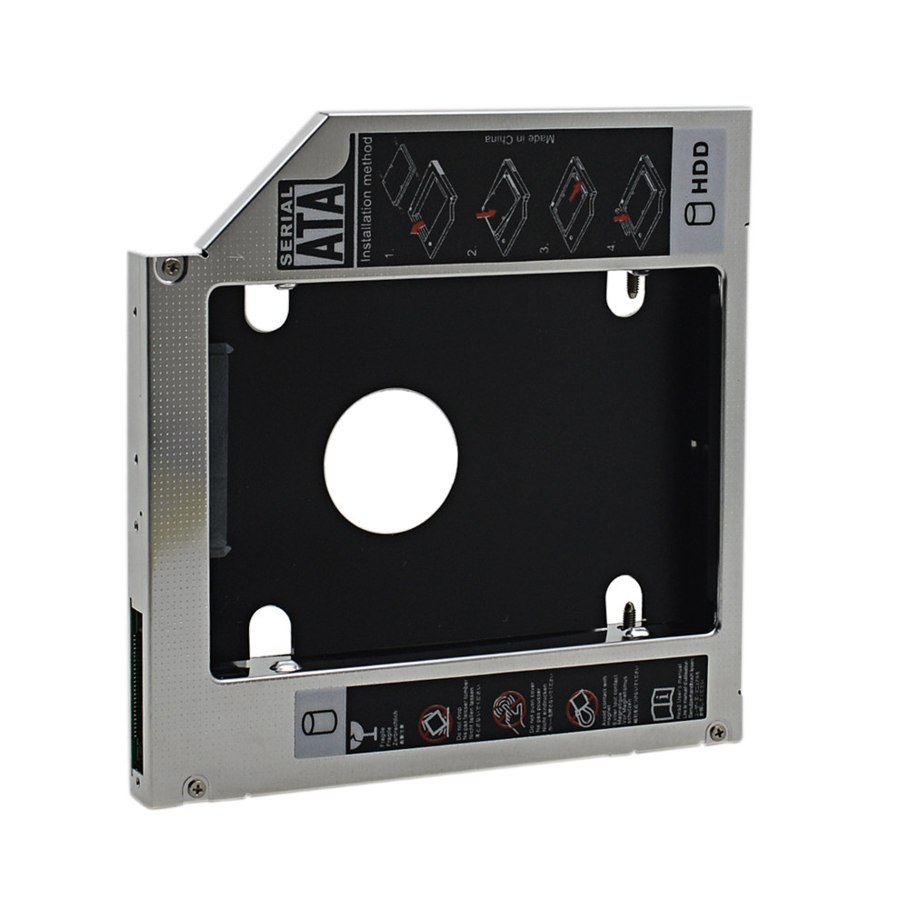 Disk Caddy Hard-Drive Laptop Ide-To-Sata CD/DVD-ROM NEW PATA for Dell Inspiron XPS Optical-Bay