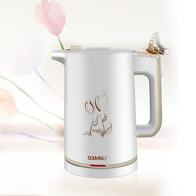 Free shipping Electric kettle automatically power insulation against the hot 304 stainless steel Electric kettles