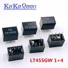 20 sztuk/partia LT455GW LT455G 455G CQ 33-455G LT455 1 + 4 5Pin DIP-5 455KHz filtr ceramiczny do komunikacji przekaźnik sygnału