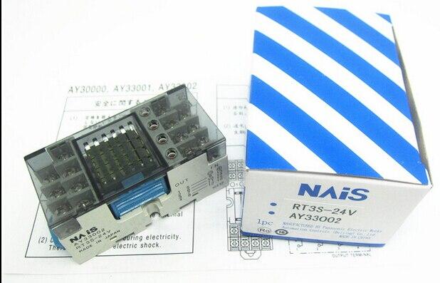 Подробнее о HOT NEW relay AY33002-RT3S-24V AY33002 RT3S-24V RT3S 24V 24VDC DC24V 1pcs/lot signal relay agy2324 ds2y s 24v ds2y s 24 v agy2324