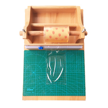 Wooden Soap Kits Wrapping Tool Packaging Machine DIY With Cutting Mat Wrap Stand