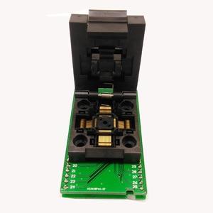 Image 2 - QFP48 TQFP48 LQFP48 to DIP48 MCU Programmer Pitch 0.5mm IC Body Size 7x7mm IC51 0484 806 Test Socket Adapter