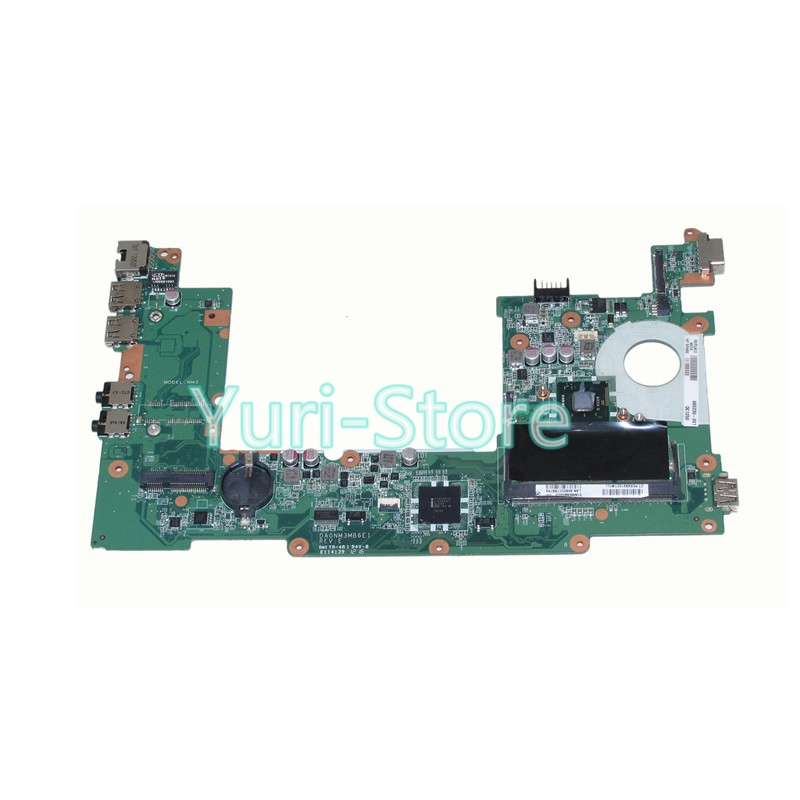 NOKOTION Laptop Motherboard For Hp Compaq mini 110 1104 Main Board DA0NM3MB6E1 REV E 665230-001 N2600 CPU DDR3
