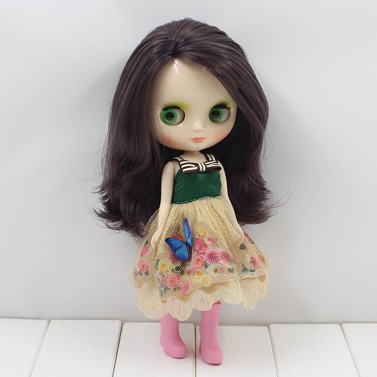 Middie Blythe Doll Grey Hair 20cm 9