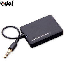Universal Black Mini 3.5mm Bluetooth Stereo Transmitter A2DP Stereo Dongle Adapter for TV Mp3 PC Bluetooth Audio Music Receiver