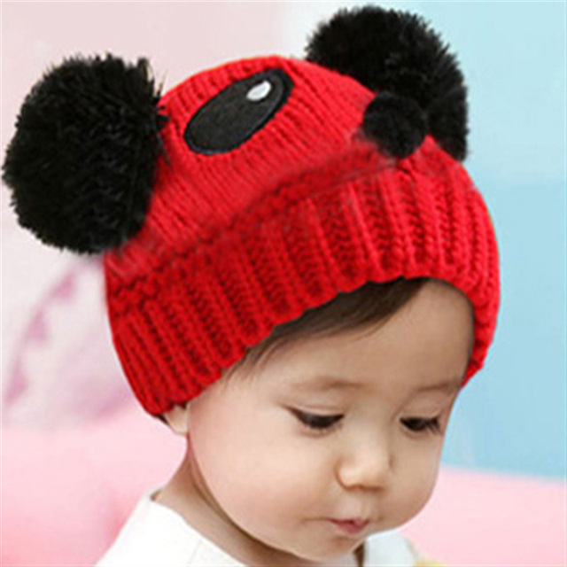 32a9c9a5e Cute Colors Cartoon Baby Girl Boy Toddler Winter Warm Knit knitting ...