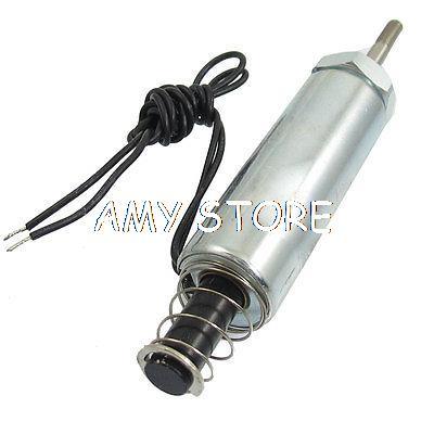 цена на DC 24V 20mm 50g Push Type Tubular Solenoid Electromagnet 10.9W DS-1954S