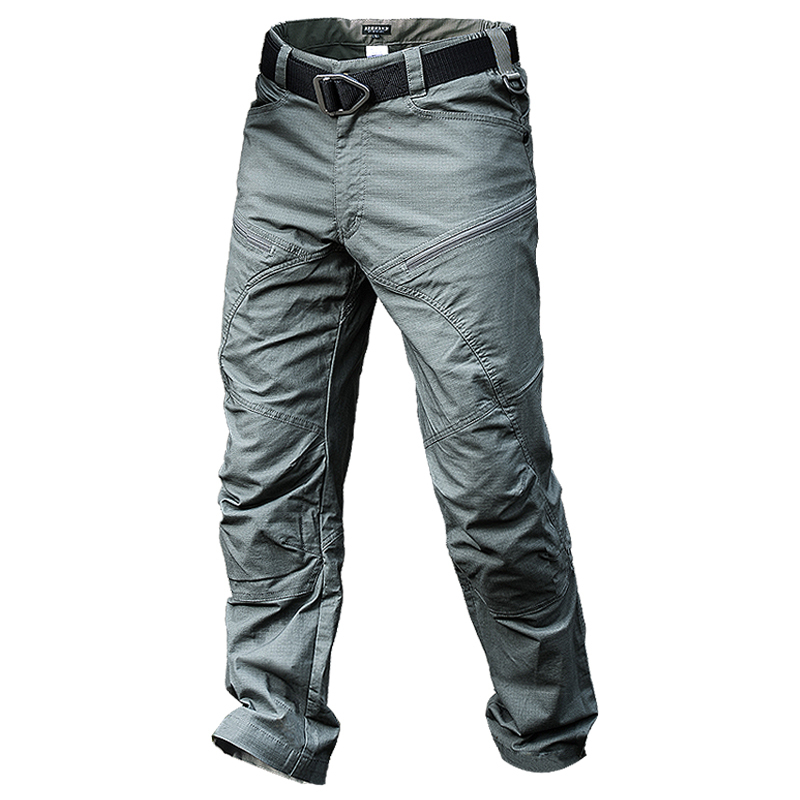 Men Hiking Hunting Anti wear Fouling Waterproof Quick DryTrousers Spring Autumn Male Army Tactical Training Camping