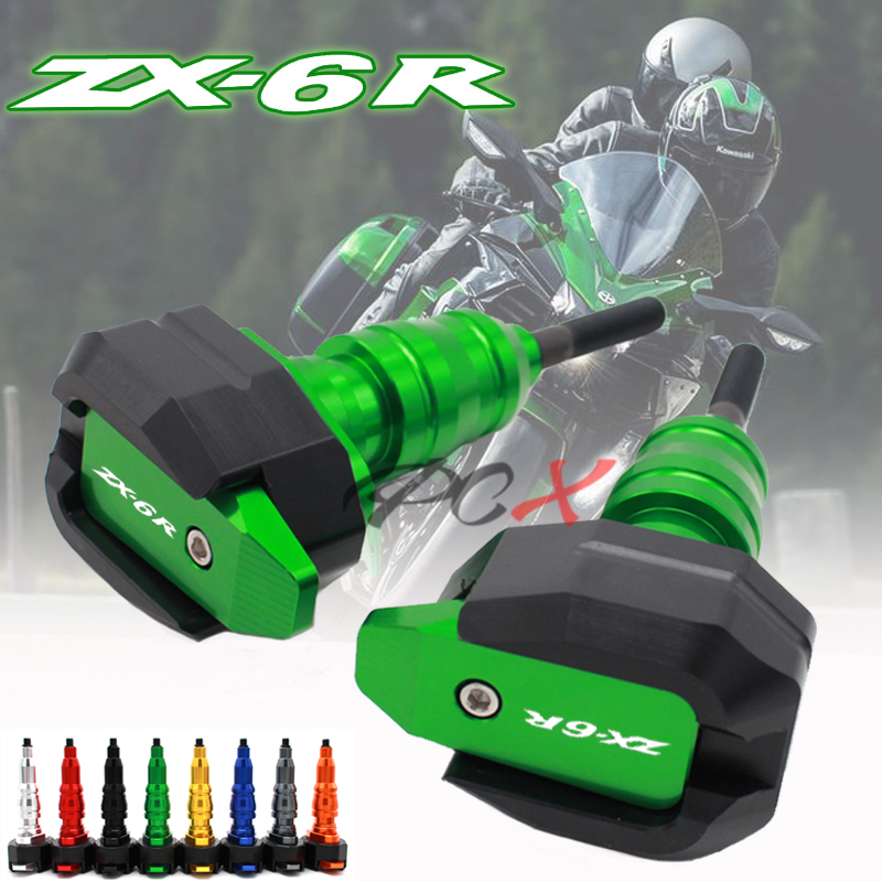 Body Frame Slider Crash Protector For KAWASAKI ZX-6R NINJA 2013-2019 ZX-636 ZX6R Motorcycle Falling Protection