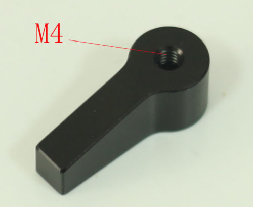 M4 Knob Thumb Screw head L Shape Screw head black color Strong and durable