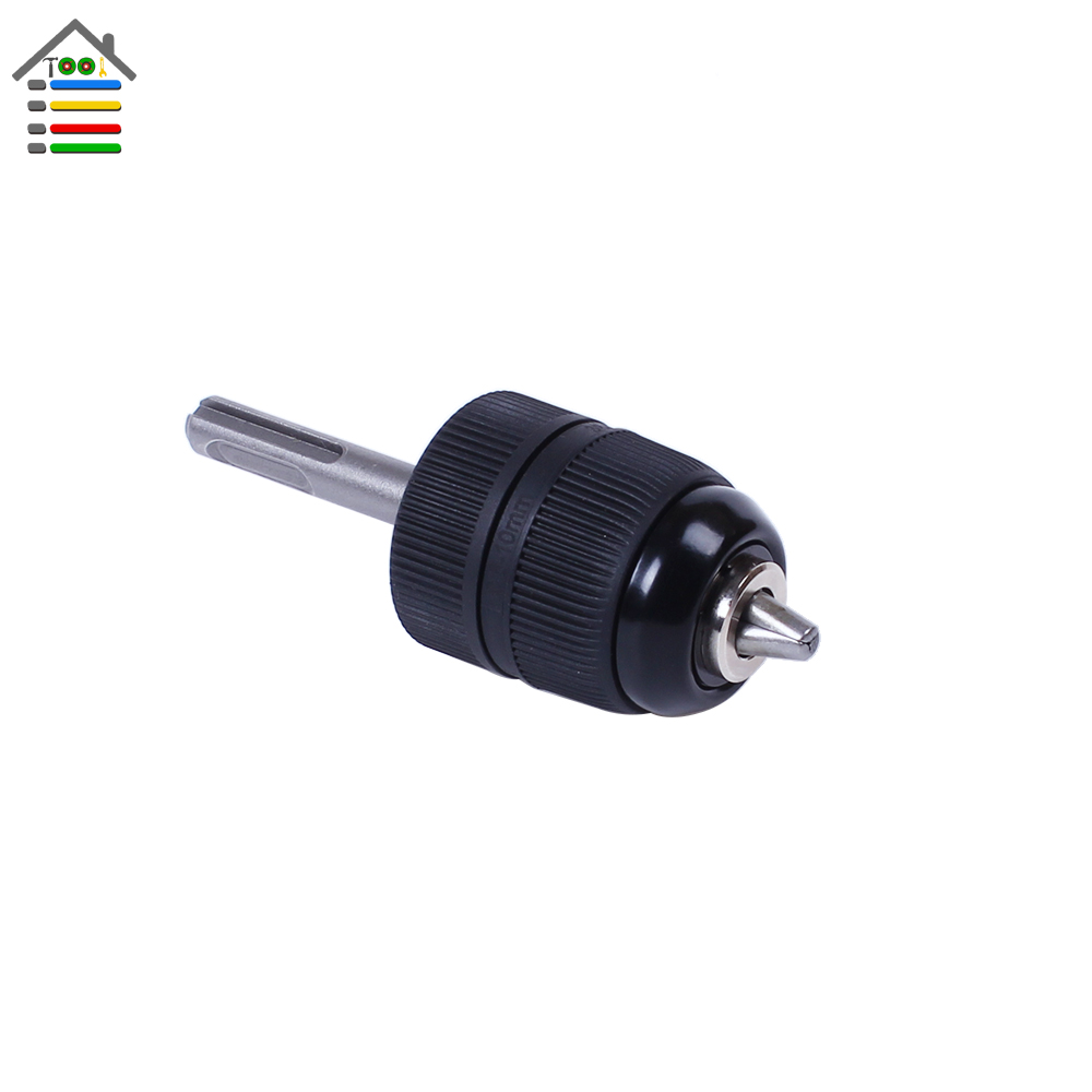 AUTOTOOLHOME Heavy Duty Keyless Drill Chuck Impact with 0.8-10mm with 3/8