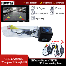 FUWAYDA car parking sensor with wireless camera Car HD CCD Rear View  Camera  with parking lines for Kia Sportage R 2010-2014