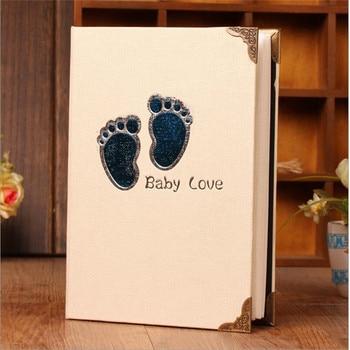 6 Inch Photo Album Cartoon Cute Picture Storage Frame 200 Sheets Insert Page Album Children Lovers Wedding Memory Book Fotoalbum