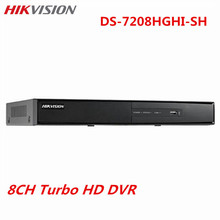 Hikvision CCTV HD 8CH DVR DS-7208HGHI-SH Turbo Alarm Support HD-TVI Analog IP Camera 720P real-time Security Surveillance DVR