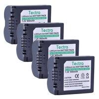 Tectra 4 STÜCKE CGA-S006 CGA S006 DMW-BMA7 Lithium-ionen-akku für Panasonic Lumix DMC-FZ7 FZ8 FZ18 FZ28 FZ30 FZ35 FZ38 FZ50