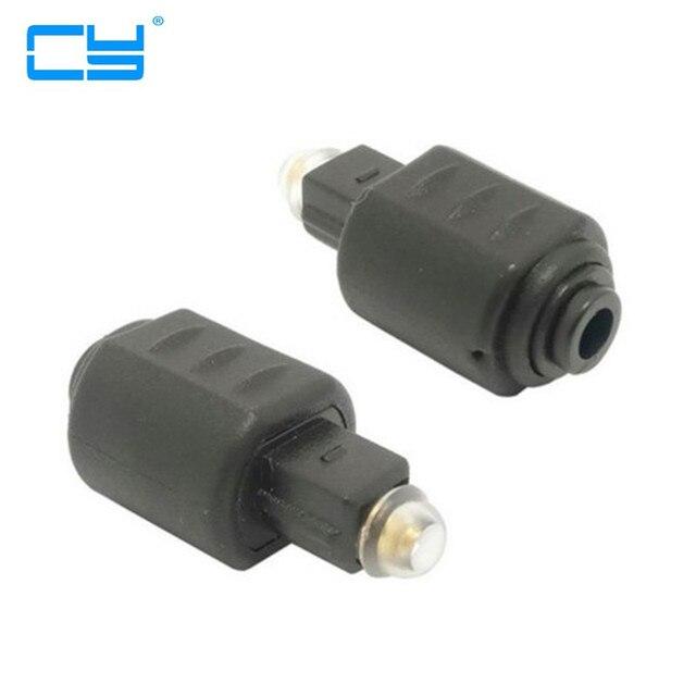 8bebab07922a49 10 pcs Lot Haute Qualité Optique 3.5mm Prise Femelle Mini Jack Plug à  Numérique
