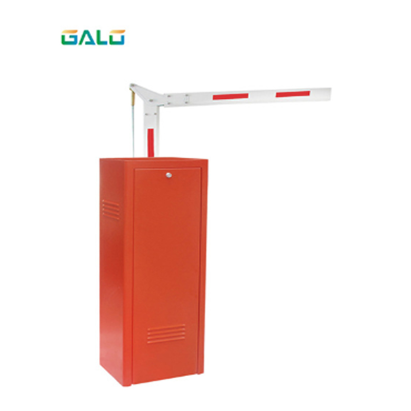 90 ° Collapsible Boom Boom Barrier IP44 Traffic Gate / Private Parking Lot Gate Safety Arm 6m Arm Gate Parking Barrier Boom Gate