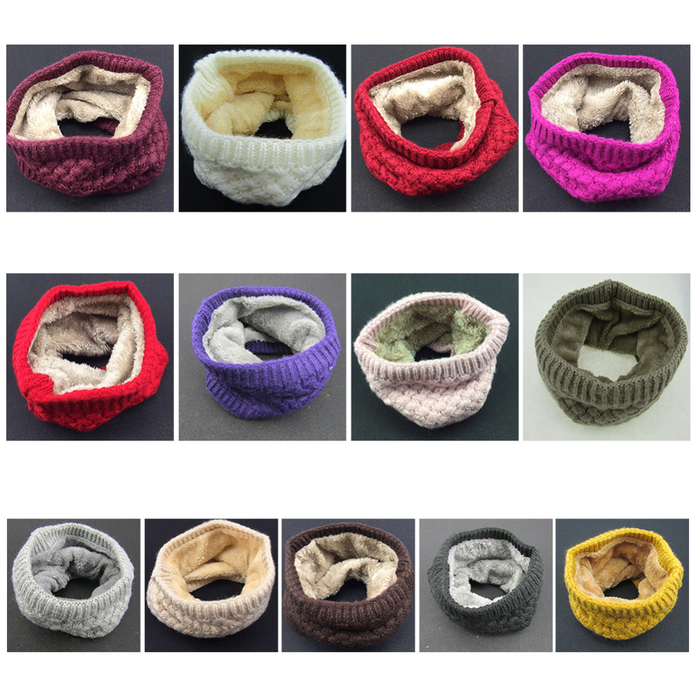 Hot New Fashion Winter Scarf Ladies Scarves Warm Thick Velvet Boys And Girls Cotton Scarf Man And Women Comfortbale Scarves