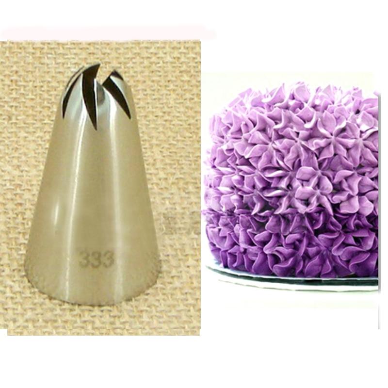 Cake Decorating Tips Sizes : #333 Large Size Cake Decorating Tips Baking Pastry Nozzles ...