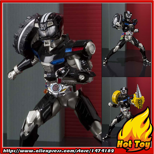 100% Original BANDAI Tamashii Nations S.H.Figuarts (SHF) Action Figure - Kamen Rider Drive Type Wild from
