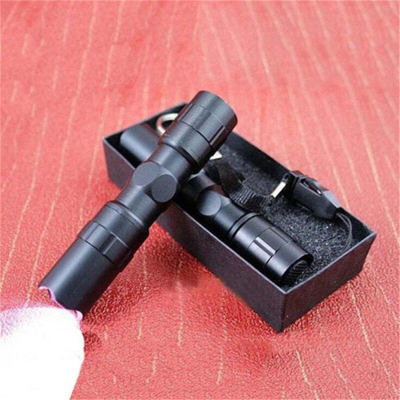 Linterna portátil Mini LED de bolsillo impermeable para lámpara de viaje al aire libre Penlight AA batería potente Led para caza