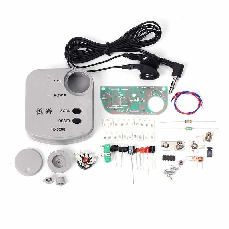 100 шт./лот FM микро SMD радио DIY Набор частотной модуляции DIY Радио электронный производственный учебный набор DIY радио наборы