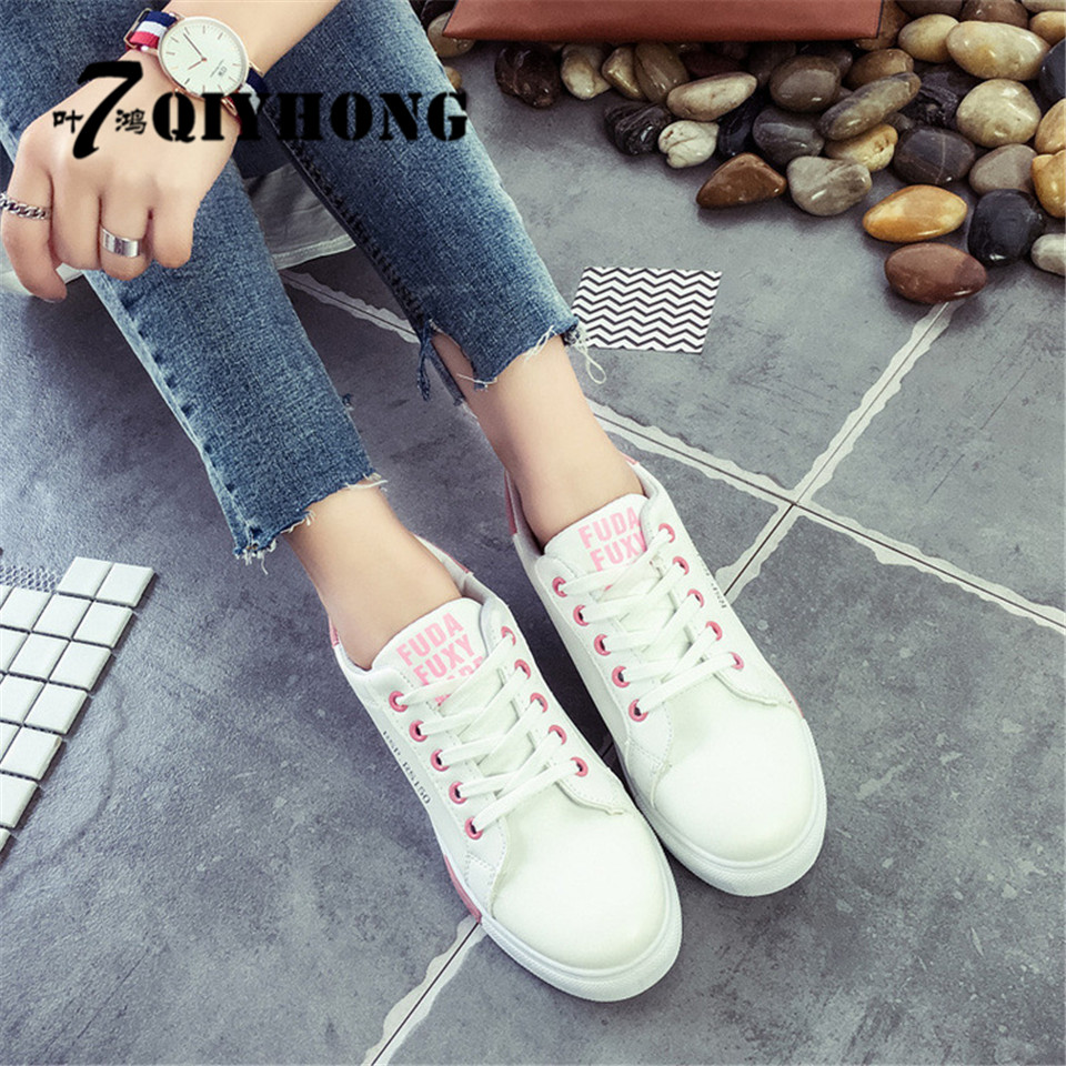 QIYHONG2017 New Fashion Hot Women's Shoes Vattentät Taiwan Liten Vit - Damskor - Foto 5