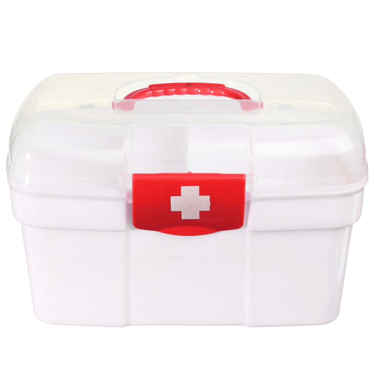 NEW Plastic 2 Layers Home Medicine Chest First Aid Kit Holder Storage Box Emergency Kits Security Safety new gbj free shipping home aluminum medical cabinet multi layer medical treatment first aid kit medicine storage portable