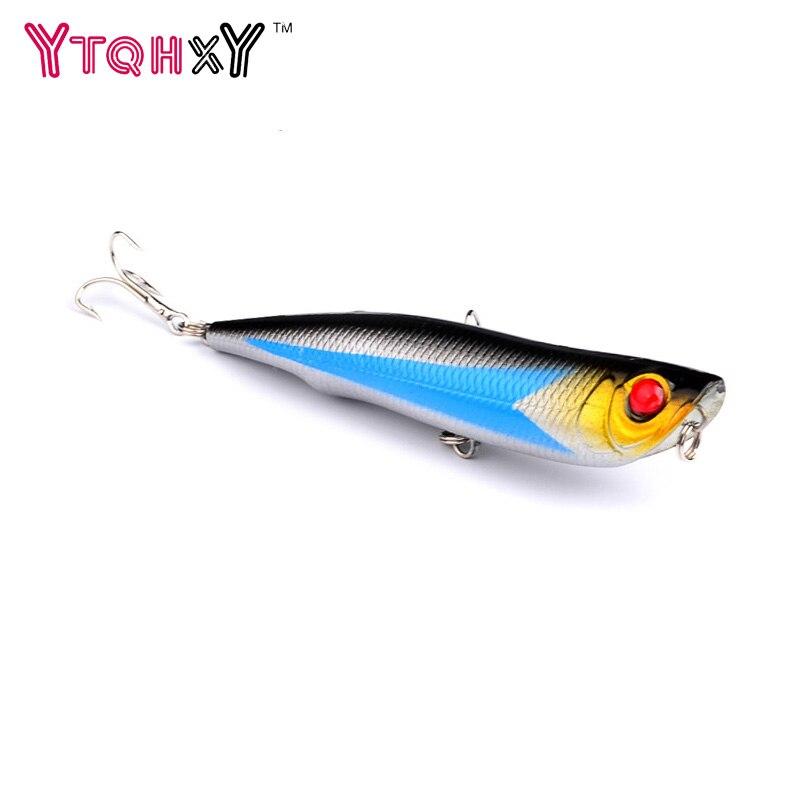 1 vnt. Popperio žūklės lervos Pesca Dirbtinis 3d akys 10.5cm 15.7g Bait Wobbler Leurre Carp žvejybos įrankis WQ8064