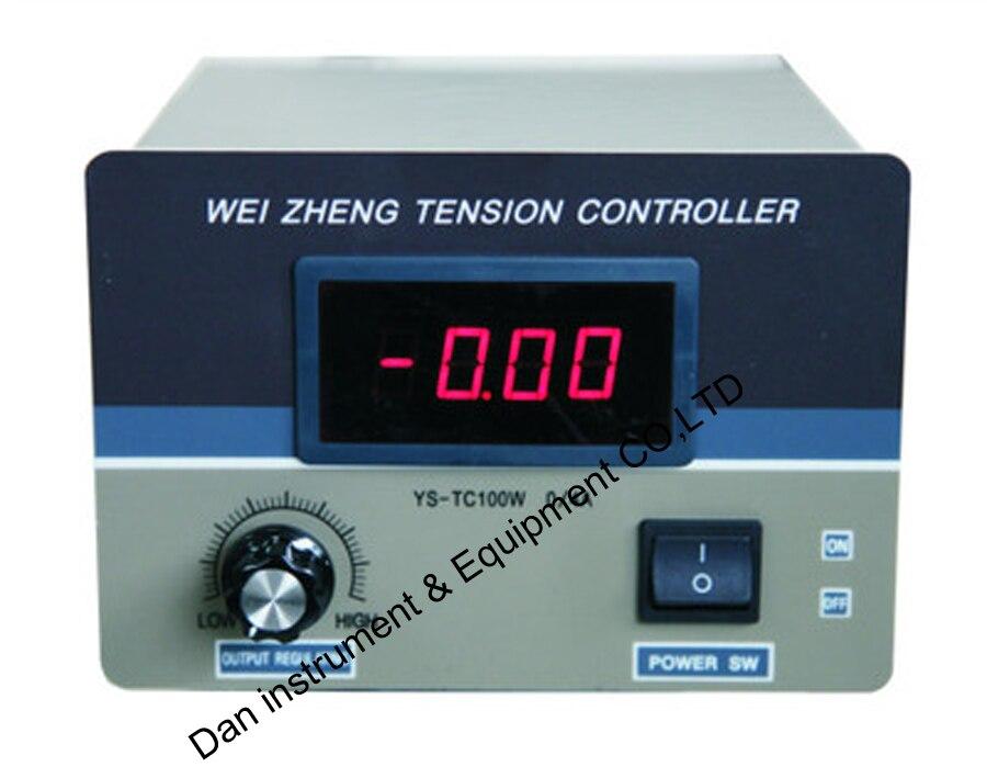 цена на YS-TC100W Manual Tension Controller ,magnetic powder clutch , brake controller