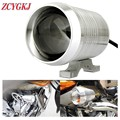 1 pcs Motorcycle Motorbike LED Headlight 12V 30W CREE U2 Driving Fog Head Light Spot Moto HeadLamp Luces de la motocicleta