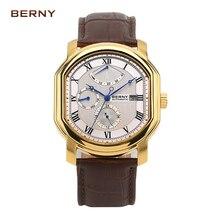 Marca Di Lusso Del Giappone Miyota orologi da uomo relogio masculino kol saati reloj hombre movimento Automatico 050M