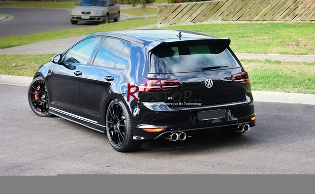 golf 7 mk7 gti 7r osir telson style roof wing frp fiber. Black Bedroom Furniture Sets. Home Design Ideas