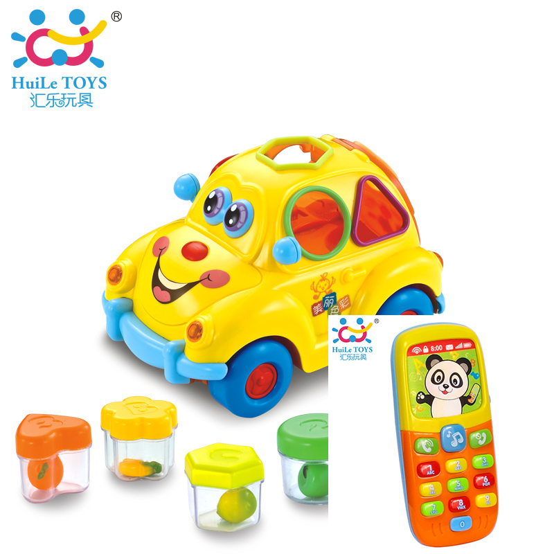 Eletronicos Action Bebe Fruit Car Baby Toys Early Education Brinquedos para Music Mobile Free Shipping Huile Toys 516 & 956
