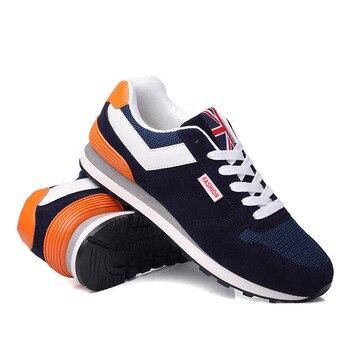 fd61dcf7 Zapatos hombres 2019 hombres zapatos casuales Primavera Verano transpirable  malla ligera para hombres zapatillas Hombre Forest Gump zapatos planos ...