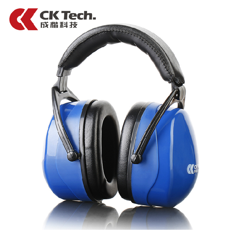 US $26 9 |CK Tech Brand Blue Noise Cancelling Earmuffs Shooting Brake Study  Sleeping Ear Muff For Noise Tactical Ear Protector Earplug2026-in Ear