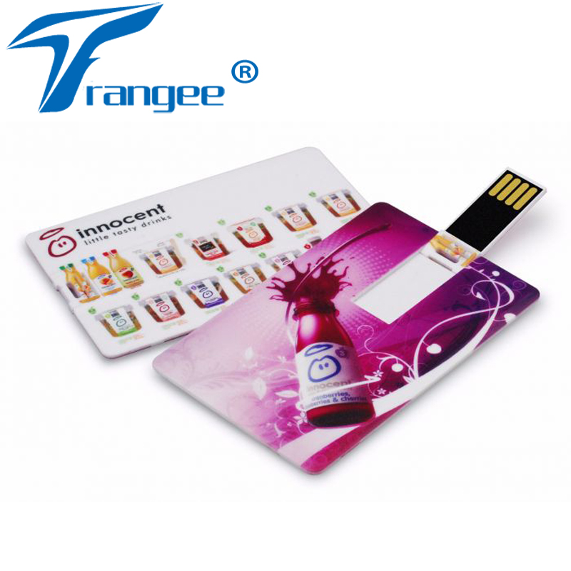 20PCS/LOT Credit Card USB Flash Drive USB 2.0 4GB 8GB 16GB 32GB ...