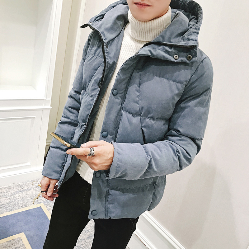 Winter Jacket Men Warm Thick Fashion Casual Slim New Cotton Streetwear   Parka   Male Clothes Outwear Overcoat And Coats