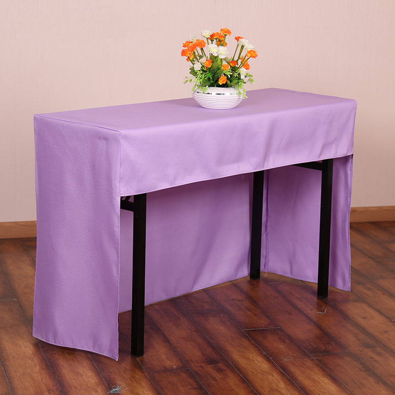 Multi Color Fabric Rectangle Conference Table Cover Full Office Tablecloth Booth Setting Cloth Usage In Tablecloths From Home