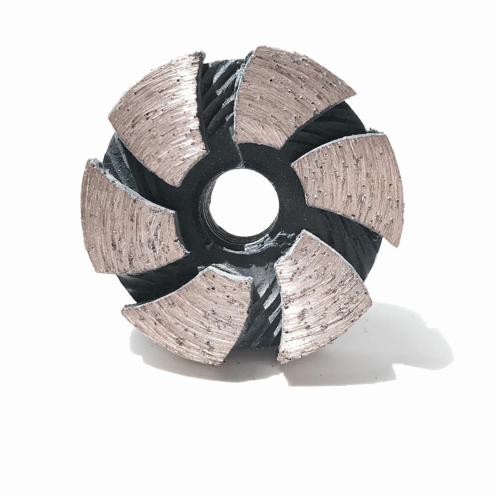 Envío gratuito de decoración de alta calidad con rueda de copa segmentada de 35 mm * M10 * 4 mm I diseñada específicamente para línea de molienda