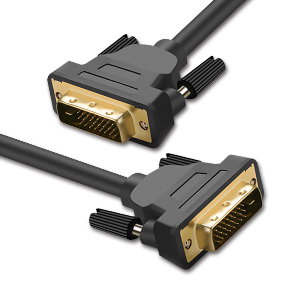 DVI Cable DVI To DVI-D 24+1 Dual Link Gold Plug Male-Male 1m 2m 3m 5m For PC Project Monitor Video Cable DVI 1m 1 8m 3m e sata esata male to male extension data transfer cable cord for portable hard drive 3ft 6ft 10ft