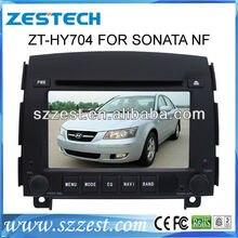 ZESTECH central multimedia Car DVD GPS for Hyundai Sonata NF dvd player with radio gps navi, digital tv optional