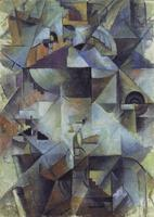 High quality Oil painting Canvas Reproductions Samovar (1913) By Kazimir Malevich hand painted