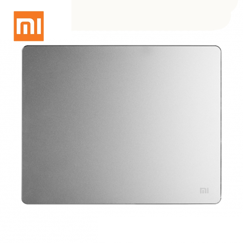Original <font><b>Xiaomi</b></font> Smart Metal Mouse Pad <font><b>Mousepad</b></font> Ultra Thin Aluminum Thin Computer Mouse Mat Frosted Matte for Office Laptop image