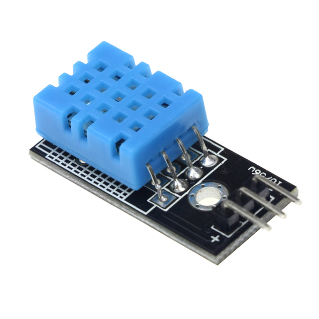 DHT11 Digital Temperature And Relative Humidity Sensor Module with Board and Cable