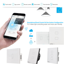 Broadlink TC2 Good Wall Gentle Change 123 Gang Contact Management Panel RM Professional WiFi Residence Automation APP Distant Management by Good Telephone