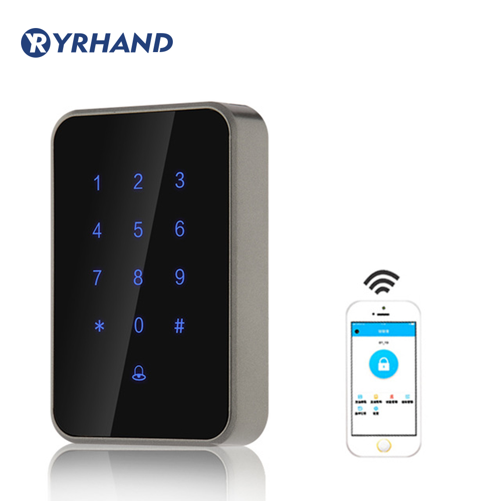 RFID Door Controller App Remote Control Keypad Password Card Bluetooth RFID Access Reader