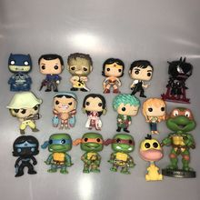 Funko pop Blackest Night Batman, ASH, Texas, one piece, черепаха, чудо-женщина, утка, Веном Железный человек, Виниловая фигурка, свободная игрушка