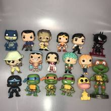 Funko pop Blackest Night Batman, CENERE, Texas, di Un Pezzo, Tartaruga, Wonder Woman, Anatra, venom Iron man Vinile Action Figure Allentato Toy(China)