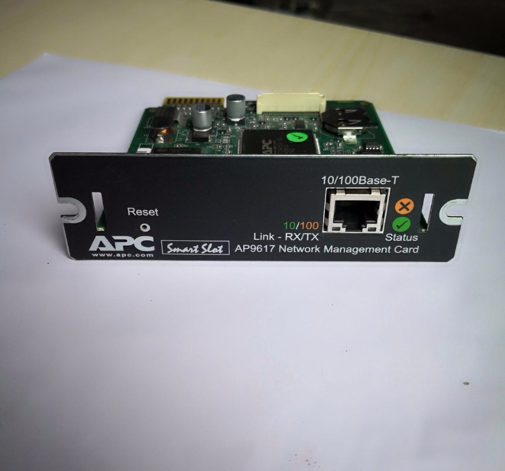 все цены на For Schneider APC AP9617 Network Intelligent Management Card Attachment Card UPS Power Supply